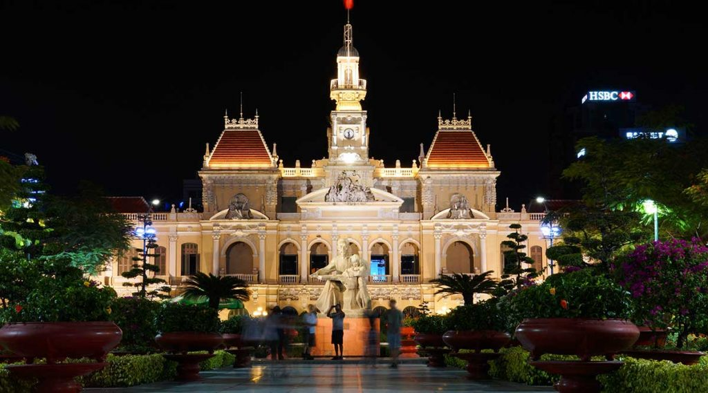 City Hall People's Committee in Ho Chi Minh City
