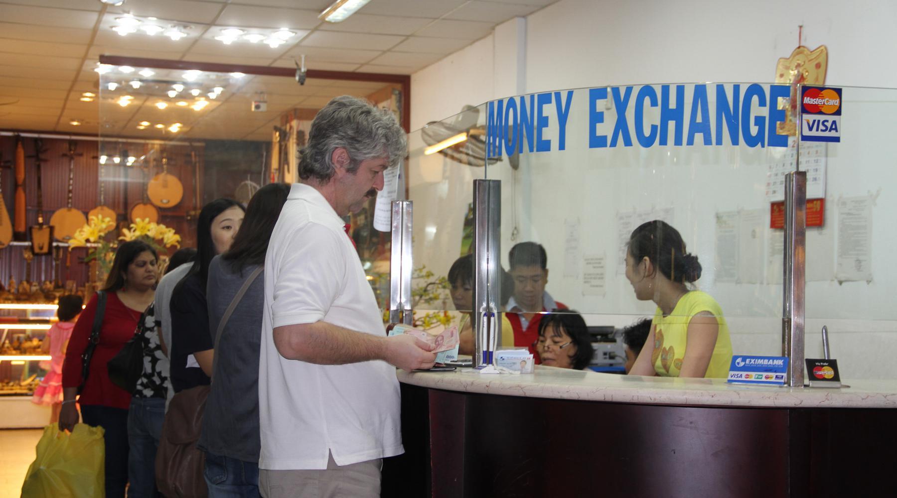 geld wisselen in Ho Chi Minh City