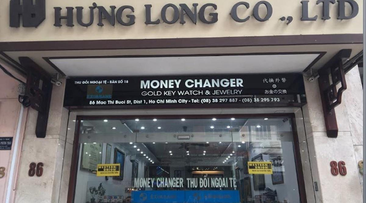 Hung Long geld wisselen in Ho Chi Minh City