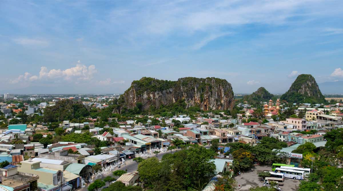 Marble Mountains bij Da Nang