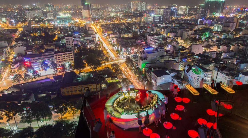 Rooftop Bar: Chill Sky Bar, District 1, Saigon