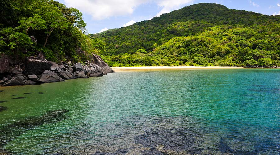 Bai Dam Trau strand Con Dao