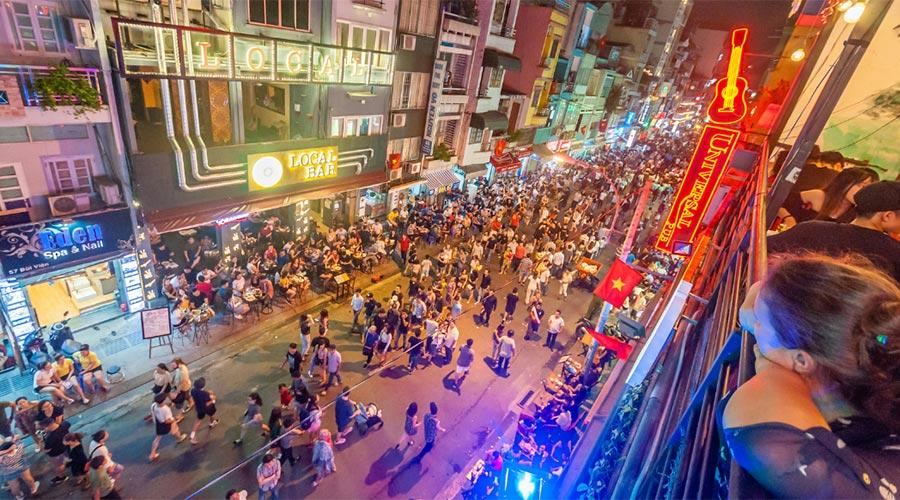 Bui Vien Street Ho Chi Minh City