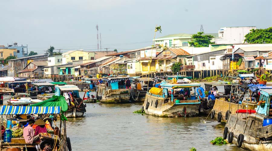 Cai Rang drijvendemarkt