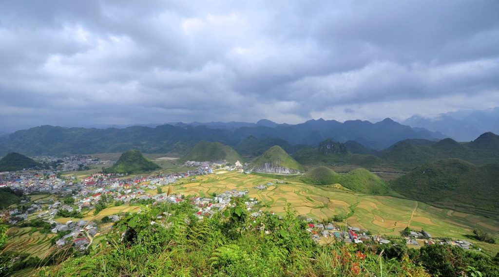 Co Tien mountain (Of: Fairy Mountain) in Yen Minh