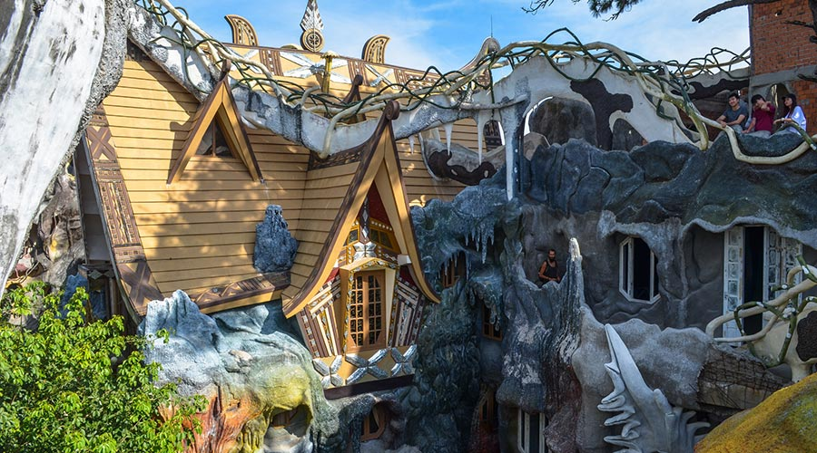Hang Nga Crazy House Dalat
