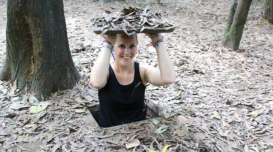 Cu Chi Tunnels dag 2 in Ho Chi Minh City