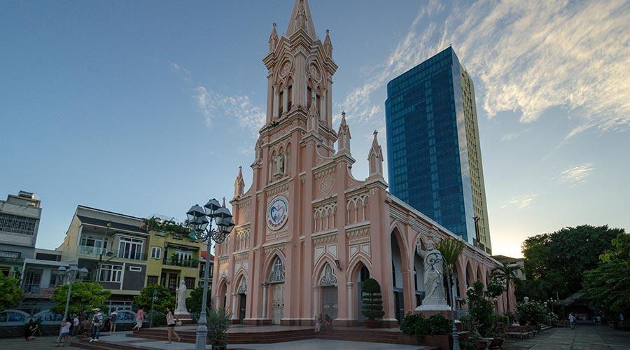 Da Nang Cathedral kerk in Danang