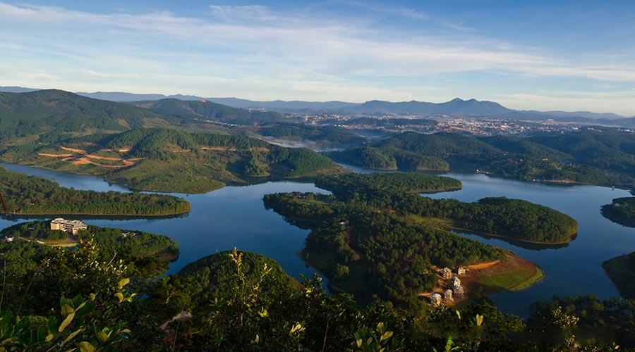 Dag 1 Dalat: Tuyen Lam Lake