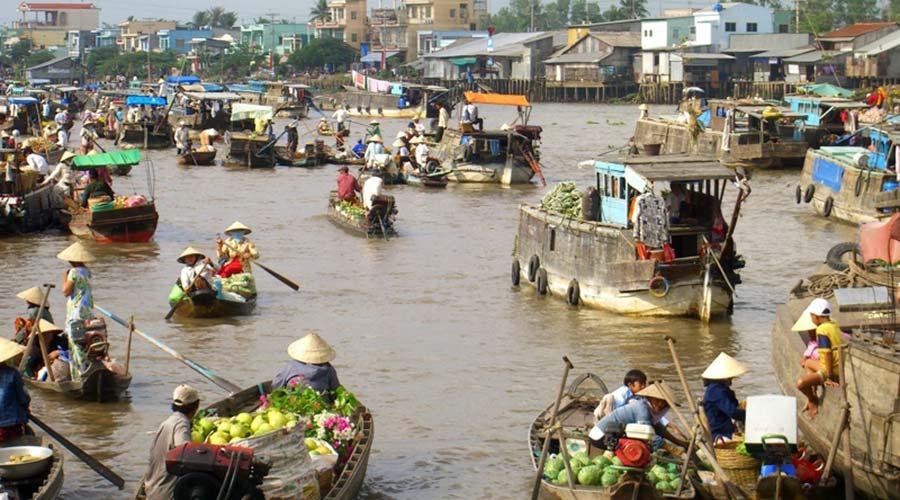 Dag 1 Mekong Delta