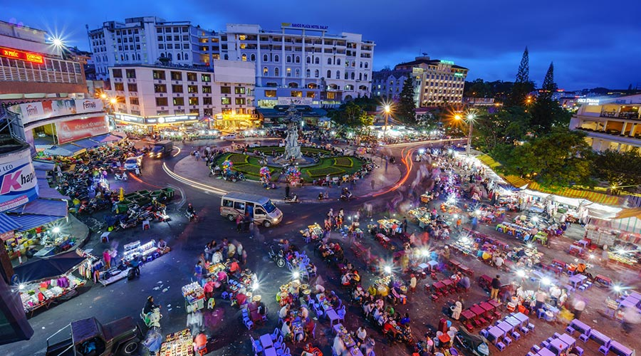 Dalat Markt