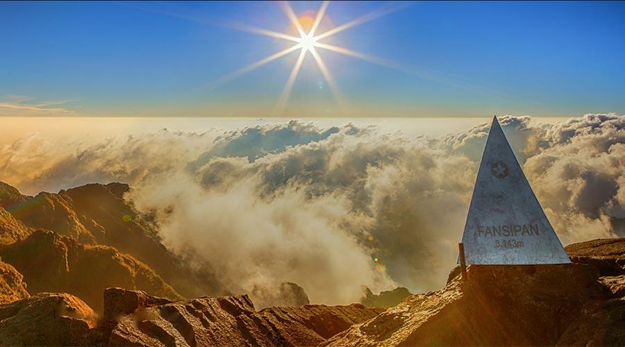 Fansipan berg Vietnam Sapa