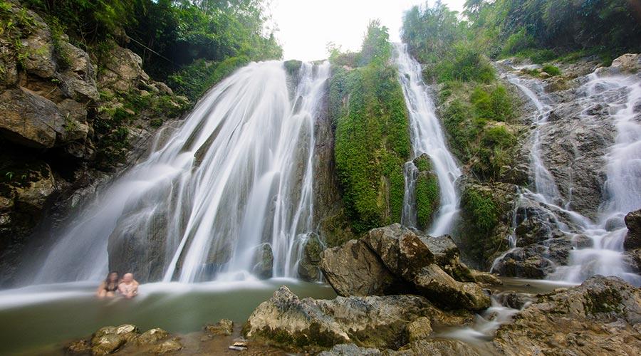Go Lao waterval Mai Chau