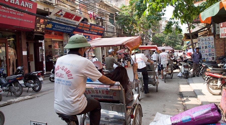 Hanoi dag 1