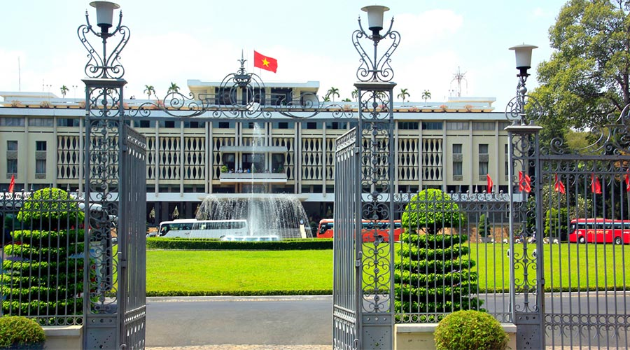Herenigingspaleis Saigon of independence palace
