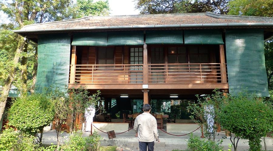 Ho Chi Minh's stilt house in Hanoi