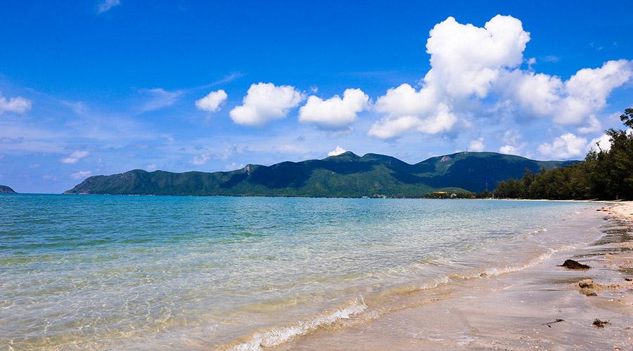 La Voi strand Con Dao