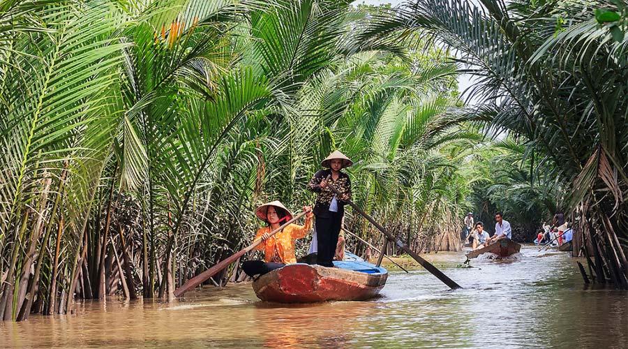 Mekong Delta op dag 3 in Ho Chi Minh City