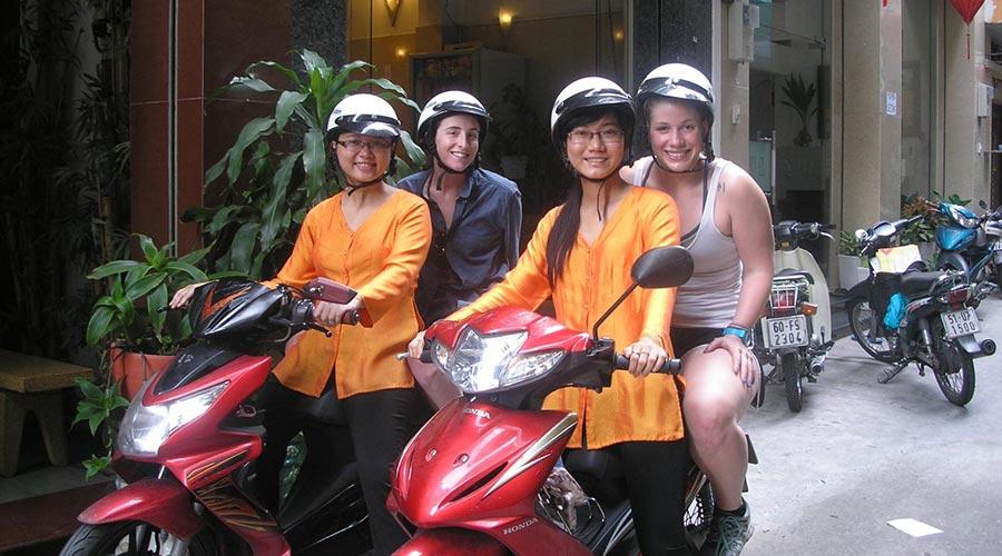 Motor tour Ho Chi Minh City
