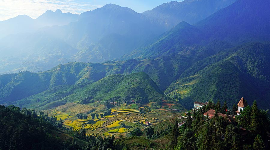 Muong Hoa Valley Vietnam Sapa