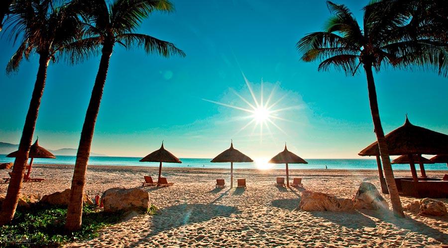 My Khe Beach strand Danang