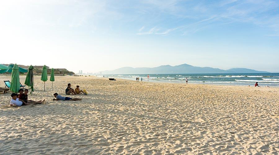 Non Nuoc beach strand Danang