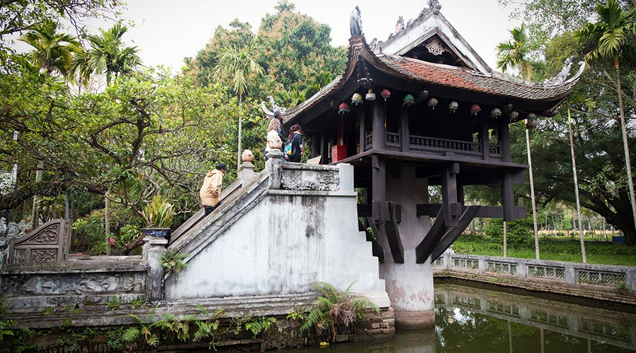 One Pillar Pagoda Hanoi