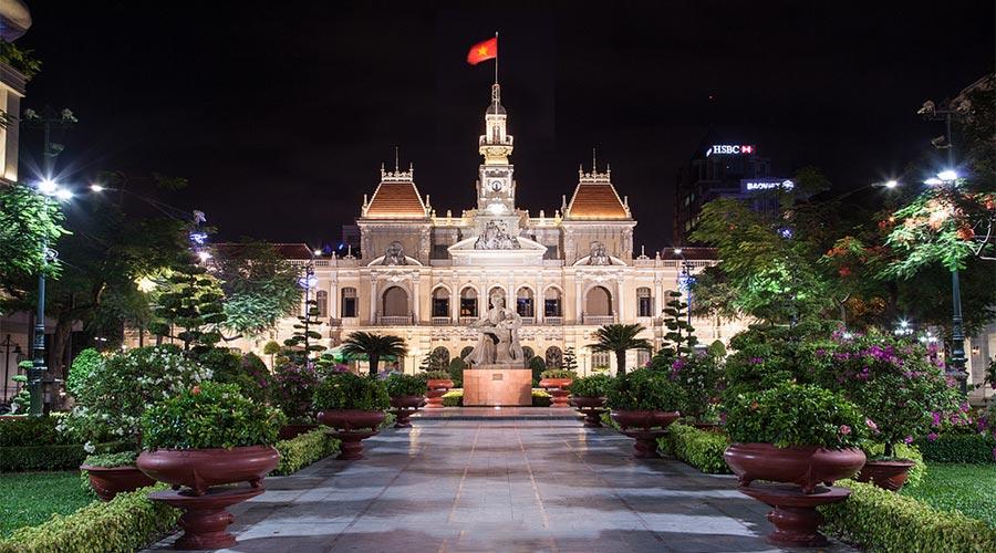 People's Committee Building Stadhuis van Ho Chi Minhstad