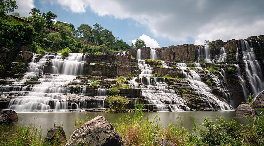 Pongour waterval Dalat