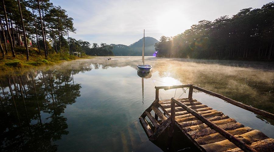 Tuyen Lam lake - meer in Dalat
