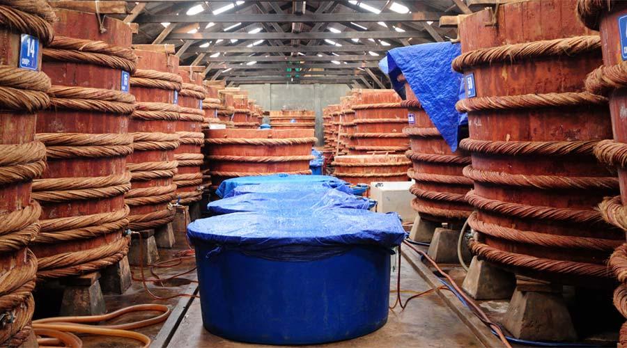 vissausfabriek op Phu Quoc