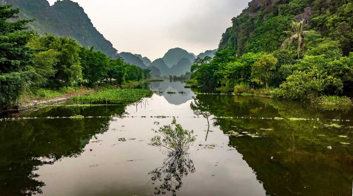 Ba Be lake off the beaten track in Vietnam