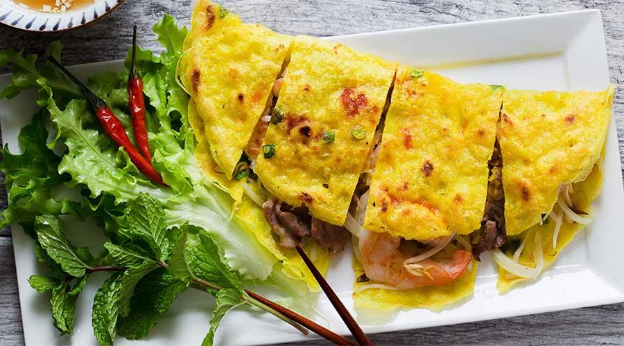 Banh Xeo: Vietnamese pannenkoek