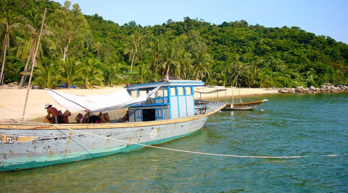 Cham Island Vietnam strand