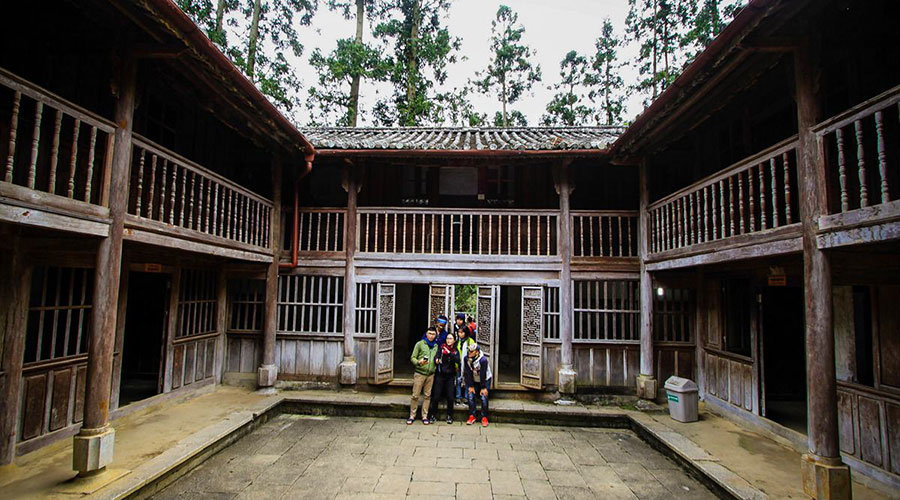 Hmong Kings' Palace in Ha giang