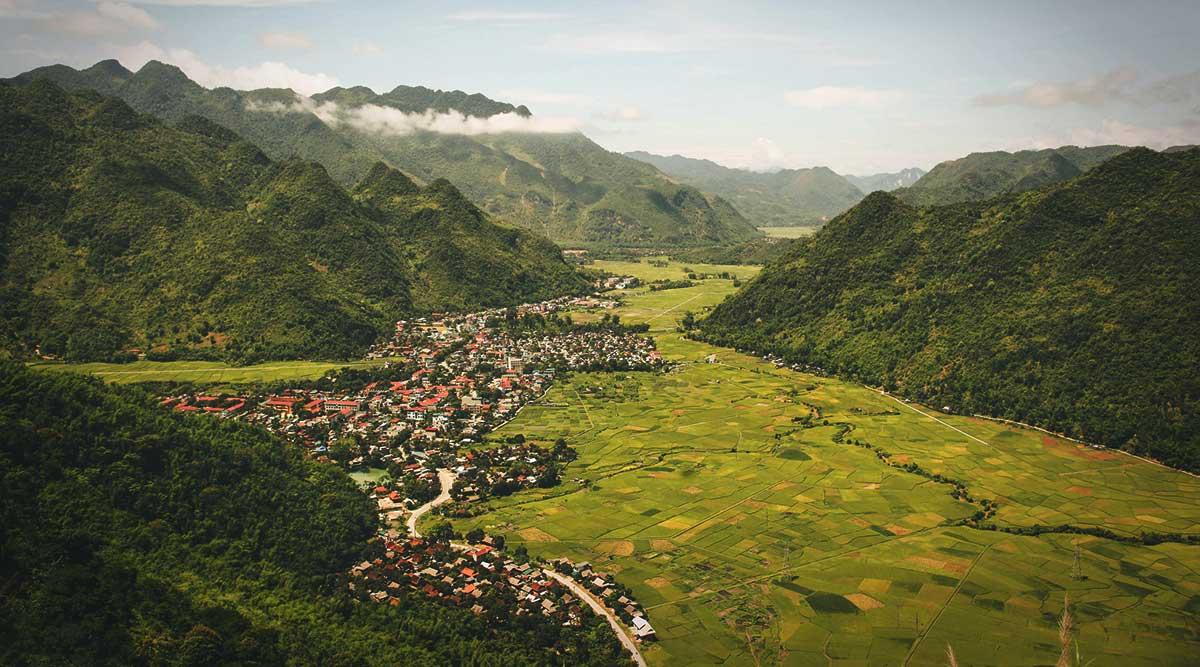 Mai Chau rijstvelden