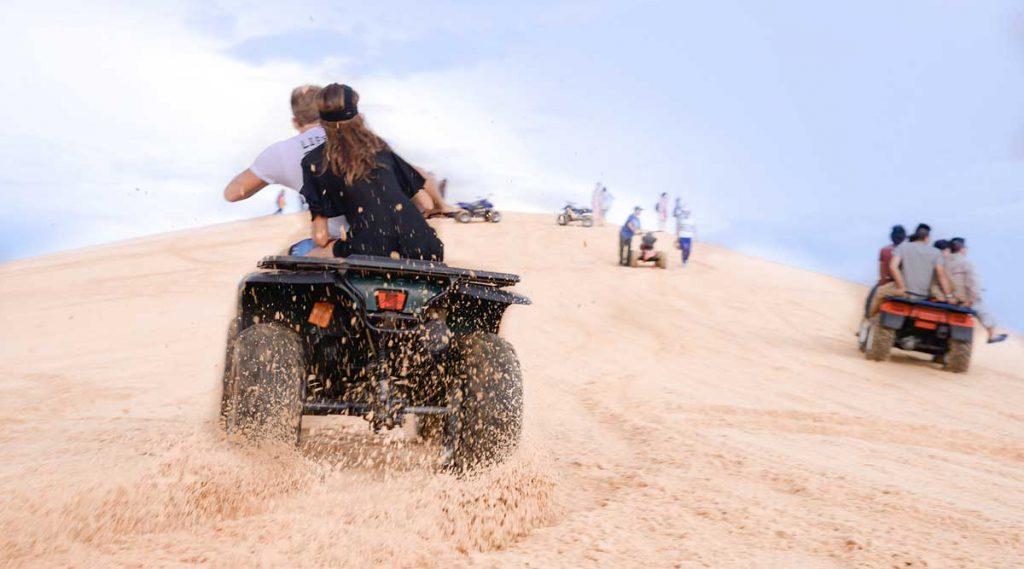 Mui Ne quad rijden in duinen