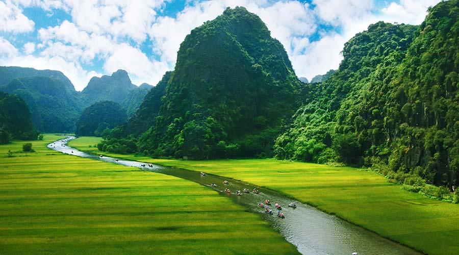 Ninh Binh rondreis in Vietnam