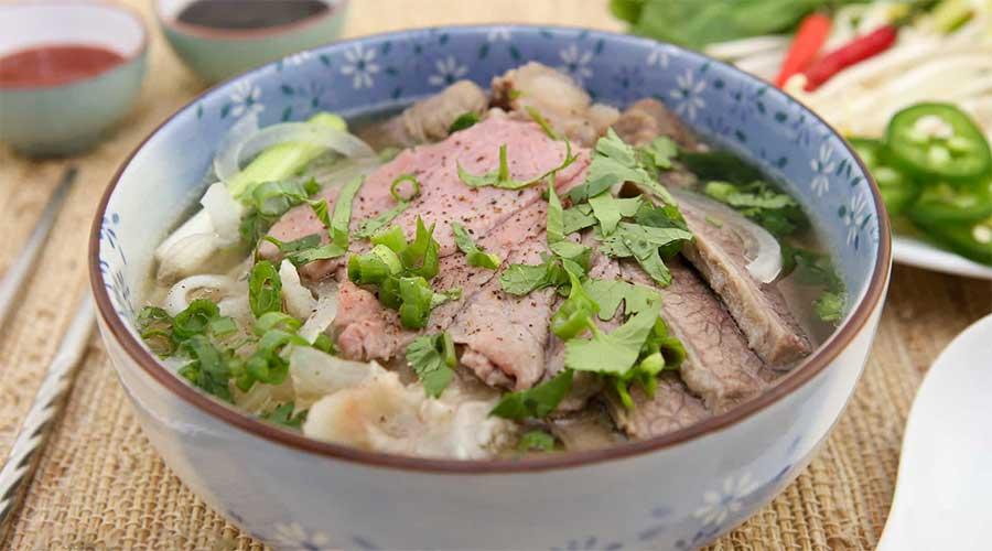 Pho: Noedel soep met rundvlees