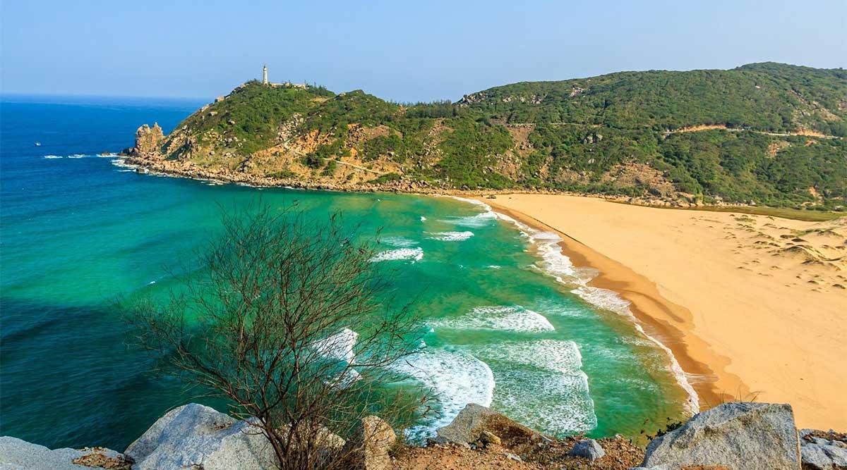 Phu Yen strand Vietnam