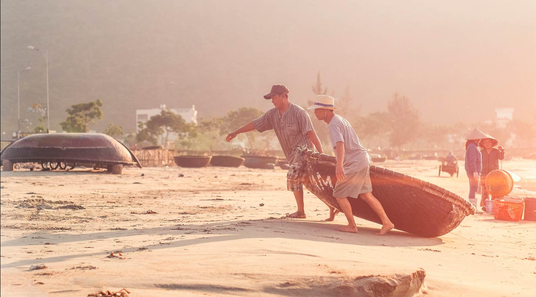 stranden in Vietnam