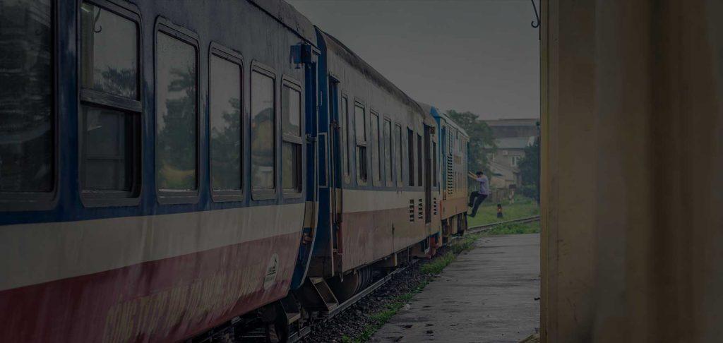 Vietnam trein reizen