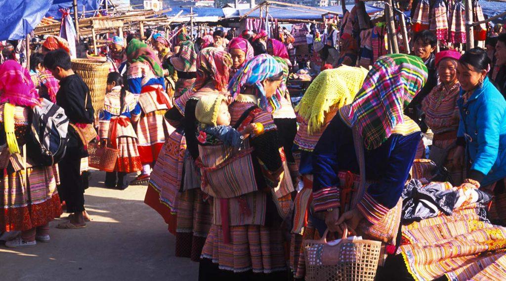 Bac Ha markt
