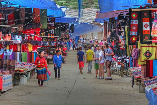 Bac Ha markt in Vietnam