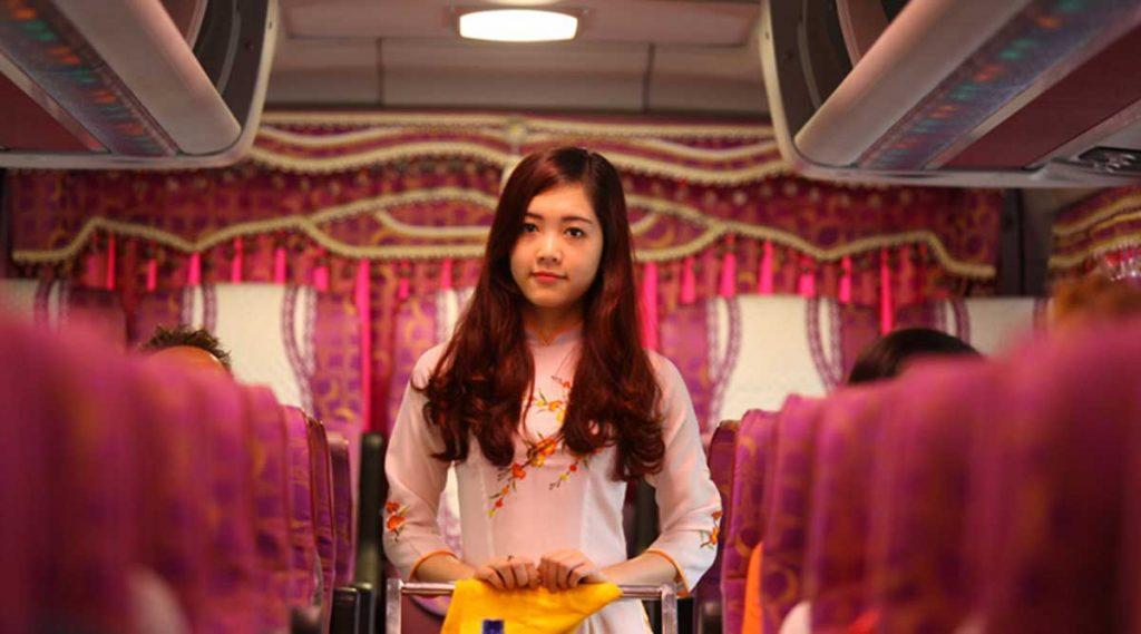 Met de bus van Hanoi naar Sapa