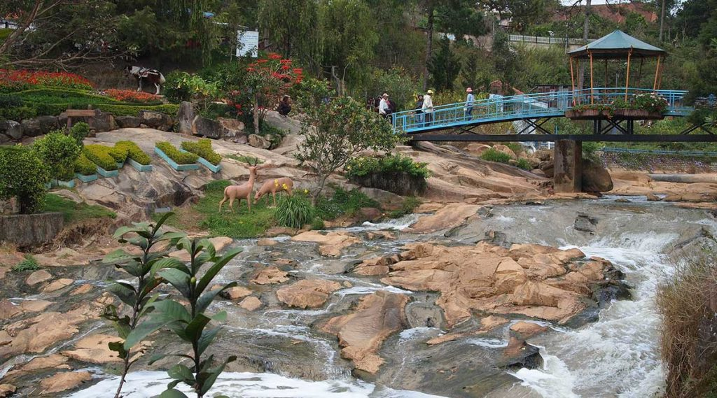 Cam Ly waterval in Dalat