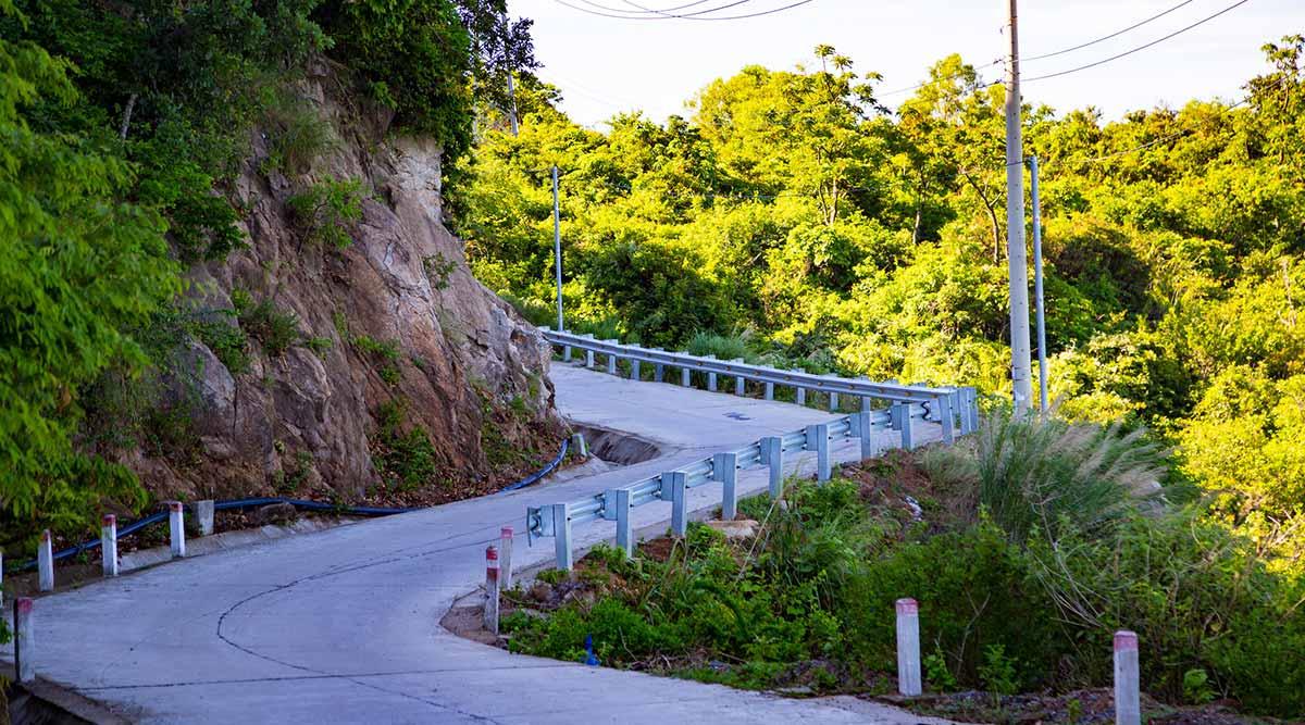 Cham Island kustweg