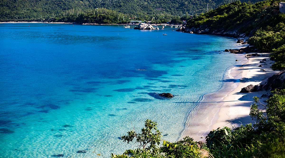Cham Island stranden