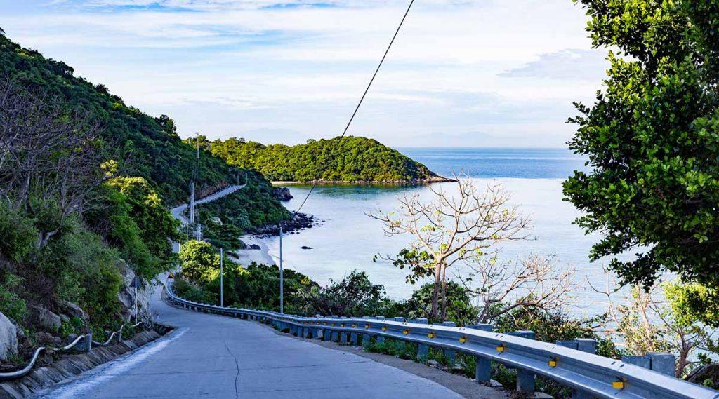 Cham Island weg