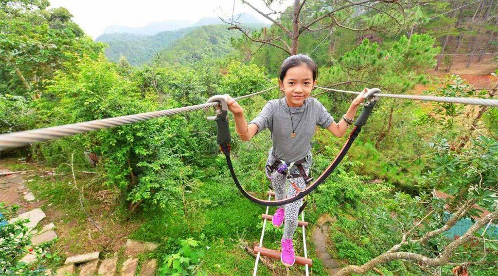 High Rope park Dalat